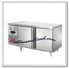 R160 1.2m 2 Puertas Fancooling / Refrigeración estática Refrigerador / congelador Undercounter