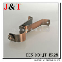 Decorative Support Copper Rod Bracket Pipe Brackets