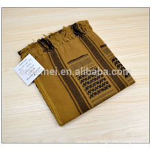 custom made polyester arab head scarf for men