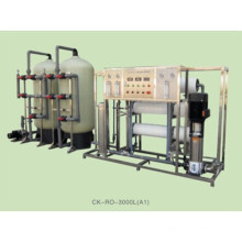 Borehole Salty Water Treatment by Reverse Osmosis System for Printing Fields