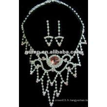 Dernier ensemble de bijoux de mariée (GWJ12-481)