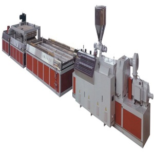 wood plastic door panel machine