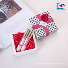 Full color custom exquisite design perfume gift packaging paper box