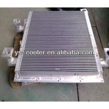 Refrigerador de óleo e ar para compressor alternativo