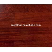 Plancher de bois massif en bois massif de BUbinga Plancher en bois massif multicouches