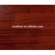 BUbinga pêra projetado chão de madeira maciça Multilayer piso de madeira maciça