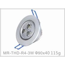 Plafonnier économiseur d'énergie de 3W LED avec du CE et RoHS