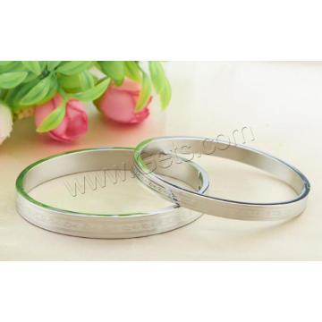 Gets.com anillos de titanio de acero par hechos a mano