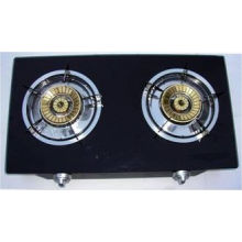 ф120x120 Brass Cover Cast Iron Home Table Top Gas Stove Fj-g202b