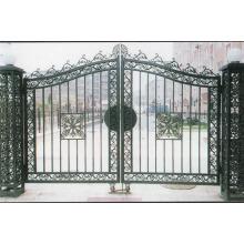 Puerta de seguridad de hierro
