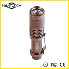 Adjustable Zoomable LED Flashlight with CREE XP-E LED (NK-628)