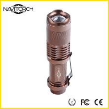 Регулируемый Zoomable светодиодный фонарик с CREE XP-E LED (NK-628)