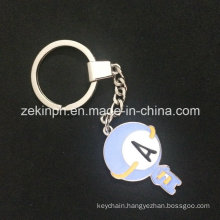Promotional Soft Enamel Die Cast Metal Keychain