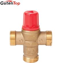 La válvula de mezcla termostática de la temperatura de Gutentop mezcla para el agua caliente y fría