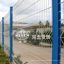 Заводские поставки ПВХ с покрытием безопасности сварные ограждения