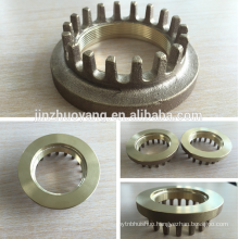 OEM service precision polishing forged stainless steel casting
