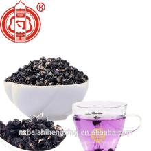 Schwarze Goji-Beerenfrucht Wilde schwarze Wolfberry