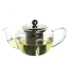 glass teapot with infuser for the glass stove