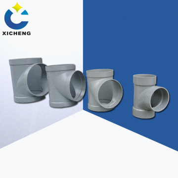 Flame retardant tee for ventilation fittings