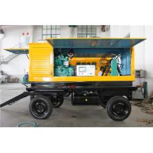 Générateur diesel diesel 120kw avec type mobile de remorque