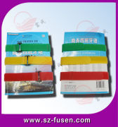 Customised Thread Velcro Book Strap Tape Polyester / Elastic For Package
