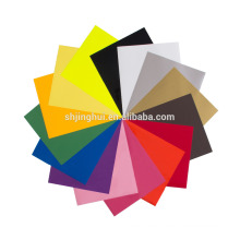 Wholesale High Quality 12'' Sheet PU Heat Vinyl Transfer For T-shirt