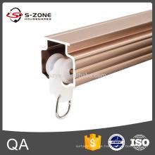Sistema de rieles de aluminio para cortinas GD38