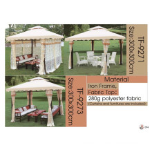 rattan/wicker furniture outdoor chairs and table luxury curtains, umbrella and lounger