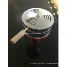Porte-charbon de bois de haute qualité Shisha Hookah Kaloud Bowl