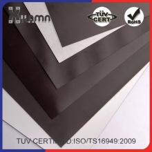 Hoja magnética flexible con adhesivo o PVC