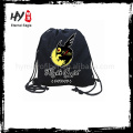 Customized first rate drawstring cotton bag For promotional