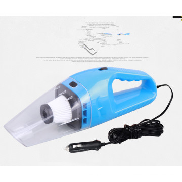 мини портативный пылесос для автомобиля с синий цвет