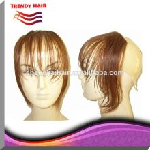 Human Hair Lace Front Wigs With Bang Made in China
