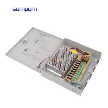 SOMPOM 12V 5A 60W 9CH CCTV Power Supply ups for CCTV camera
