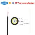 Cable de fibra óptica monomodo de fibra óptica de interior / exterior de 4 vías monomodo