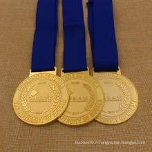 Médaille personnalisée Métal Mba School Award pour les étudiants Mba