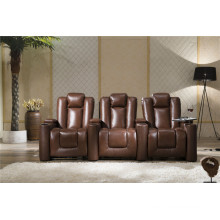 Living Room Sofa with Modern Genuine Leather Sofa Set (929)
