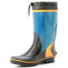 Colored Rubber Rain Boots For Young Men