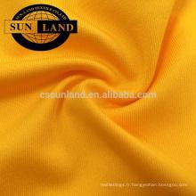 Jersey élastique 87% polyester 13% élasthanne pour vêtements de yoga