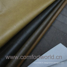 Cuir synthétique doublure PVC