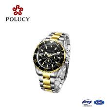 Роскошные движением Miyota OS20 Chronograph мужские часы на продажу из нержавеющей стали наручные часы для мужчин