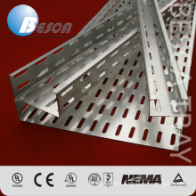 On Sale Outdoor HDG Pre-Galvanized Perforated Cable Tray Sizes Manufacture