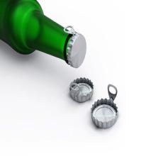 Покрытая алюминиевая катушка для колпачков для бутылок PP
