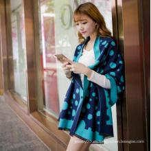 2016 Nuevos Productos Promocional bella dama invierno impreso bufanda de lana
