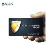 Cartão Inteligente sem contato de alta qualidade Personalize o cartão de visita do cartão de visita do cartão de visita do hotel