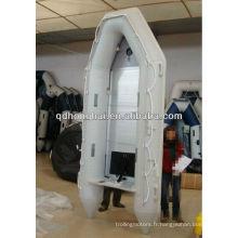 Bateau gonflable rigide en aluminium PVC ou Hypalon