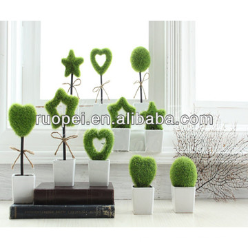 Beautiful Artificial Mini Bonsai Pots For Decoration