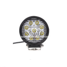 10-30V 27W 6000K Super Bright PC Lens Flood Spot Beam IP67 LED Work Light