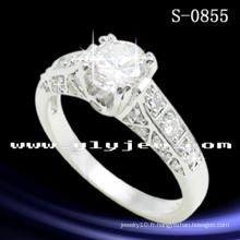Hotsale Fashion Jewelry 925 bague de mariage en argent sterling