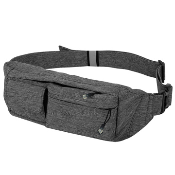 Bolso ajustable de la cintura del hombro Fanny Pack for Workout